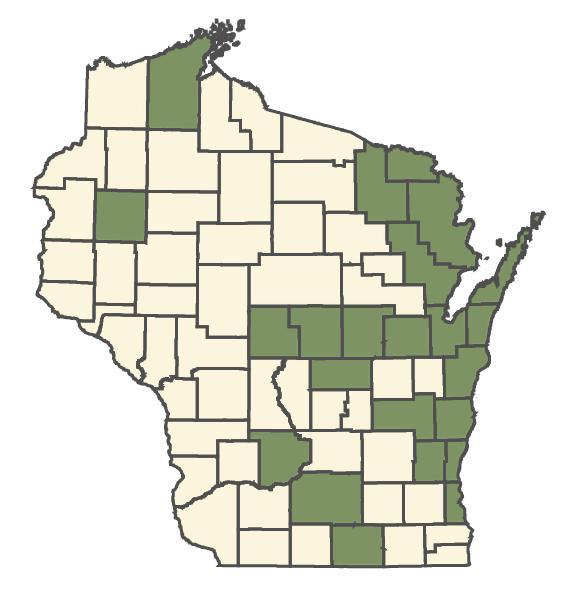 Cardamine pratensis dot map