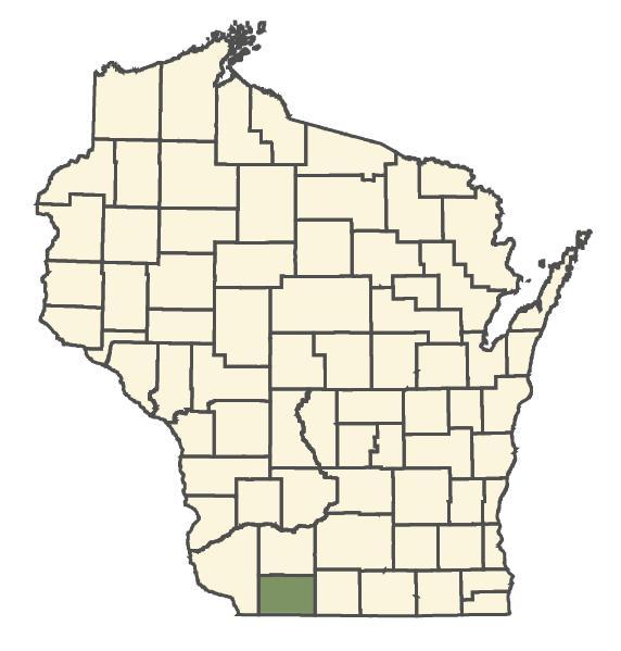 Carex aggregata dot map